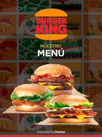 Burger King menú