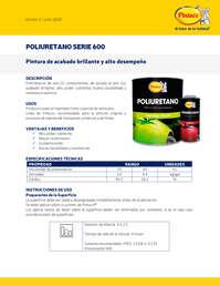 Poliuretano serie 600