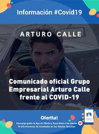 Arturo Calle #COVID19