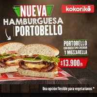 Nueva Hamburguesa Portobello