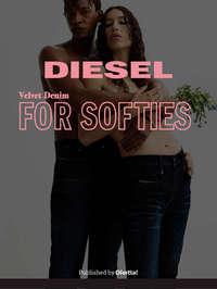Diesel velvet denim