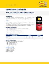 Endurecedor express e50