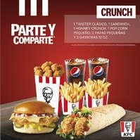 Parte y Comparte Crunch