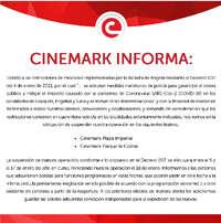 Cuarentena Cinemark