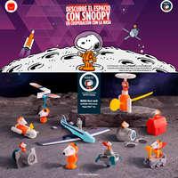 Cajita Feliz Snoopy NASA