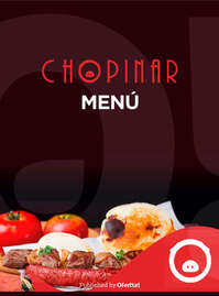 Chopinar menu