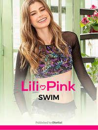 Lili Pink swim