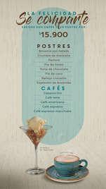 Postres y Cafés
