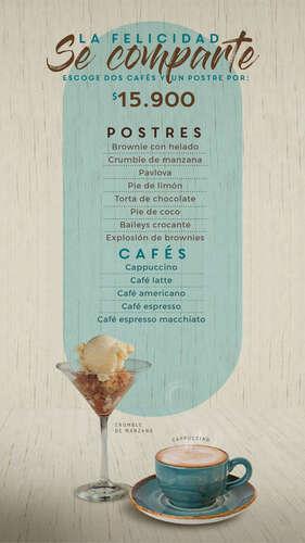 Postres y Cafés- Page 1