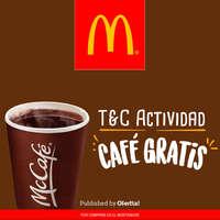 McDonalds café gratis