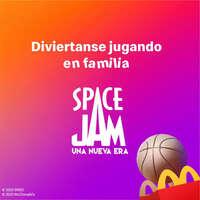 Space Jam llegó a la Cajita Feliz