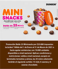 Mini Snacks