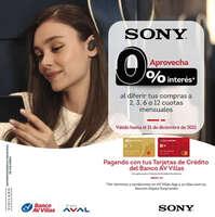 Sony sin interés