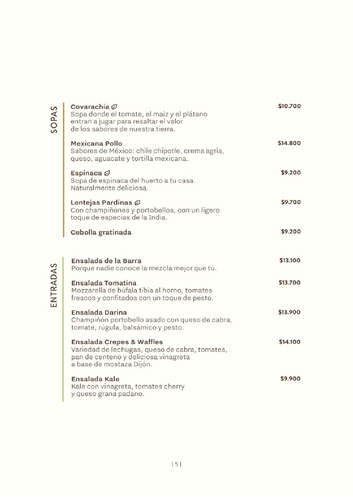 Menú Crepes- Page 1