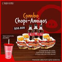 Combo Chopi-amigos