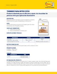 Thinner nitro 21214