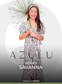 Azulu niñas savanna