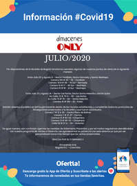 #ctdsg# Almacenes Only covid