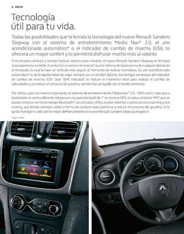 Renault Sandero Stepway- Page 1