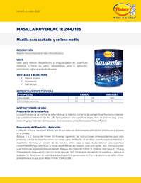 Masilla Koverlac 1k 244 185