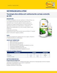 Sistema Bicapa lv900