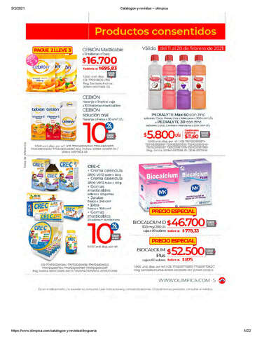 Ofertas Saludables Olimpica- Page 1