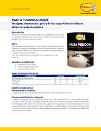 Pasta pulidora Corte Medio 120025