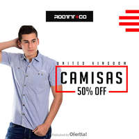 Camisas 50% off