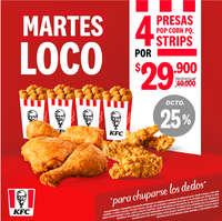 Martes Loco KFC