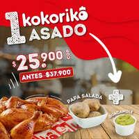 Precio especial en Kokorito asado