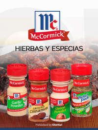 McCormick hierbas y especias
