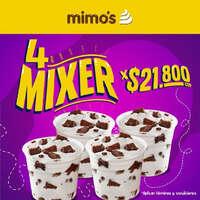 Promo 4 mixer
