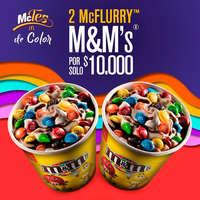 2 McFlurry por $10.000