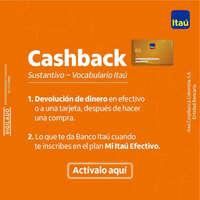 Activa tu Cashback
