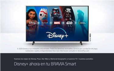 Disney Plus ahora en Bravia- Page 1