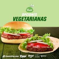 Opciones vegetarianas